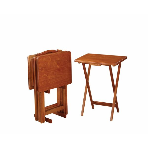 Casale Charming 5 Piece Tray Table Set by Red Barrel Studio