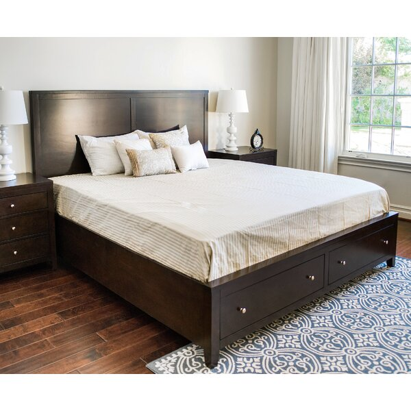 Oneill Storage Panel Bed by Three Posts