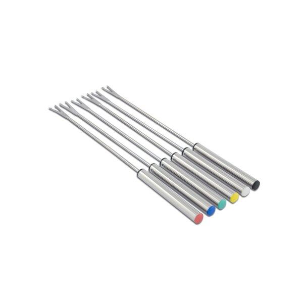 Cuisinox Stainless Steel Fondue Utensil Set (Set of 6) by Cuisinox