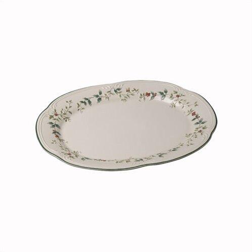 Winterberry Oval Platter by Pfaltzgraff