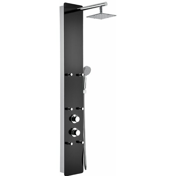 Melody Thermostatic Shower Panel System by ANZZI