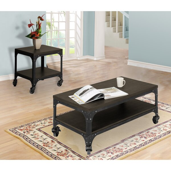 Burbach 2 Piece Coffee Table Set by Williston Forge