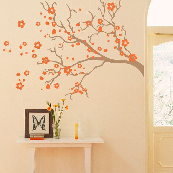 Watsonia Branch Wall Decal by Sissy Little