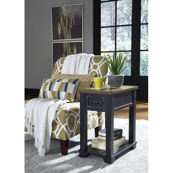 Lieberman End Table by Gracie Oaks