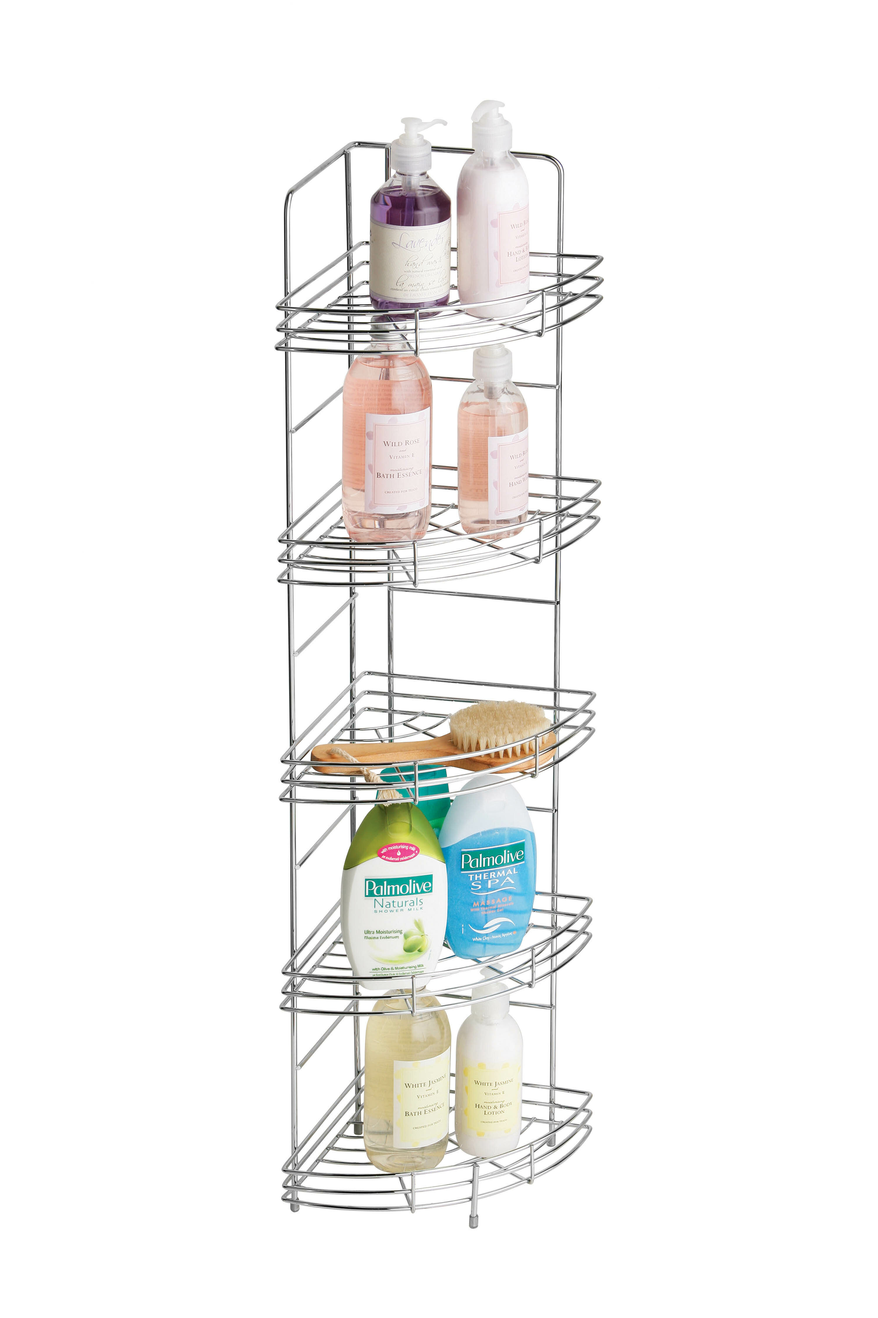 All Home Metal Free Standing Shower Caddy & Reviews | Wayfair.co.uk
