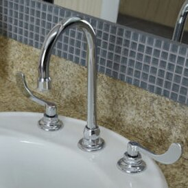 Monterrey Widespread Bathroom Faucet with Less Drain by American Standard