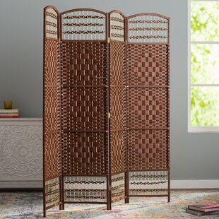 Compare Hammond 4 Panel Room Divider By World Menagerie