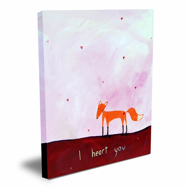 Words of Wisdom I Heart You Canvas Art by Cici Art Factory