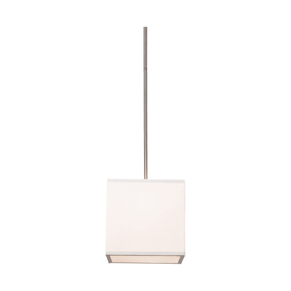 Payzley 2 - Light Shaded Square / Rectangle Chandelier By Latitude Run