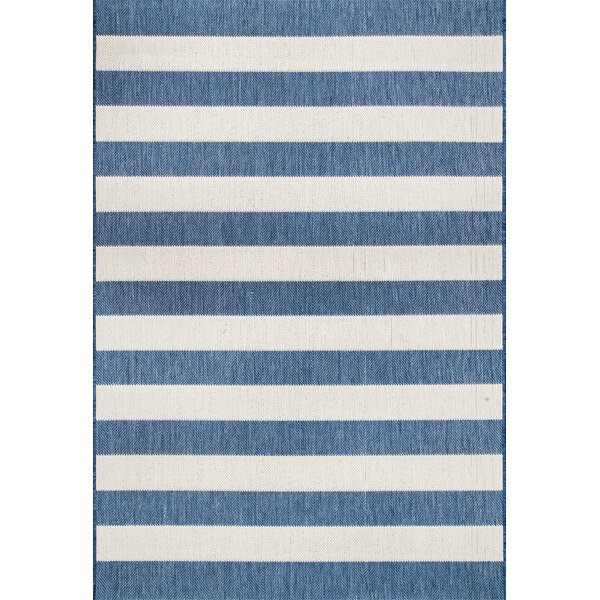 Kit Blue Indoor/Outdoor Area Rug by Highland Dunes