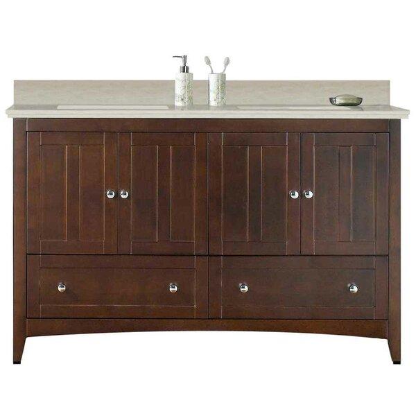 Riordan 59 Double Bathroom Vanity Set by Royal Purple Bath Kitchen