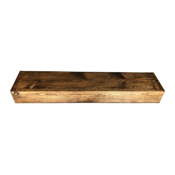 Urbano Reclaimed Wood Floating Shelf by Millwood Pines