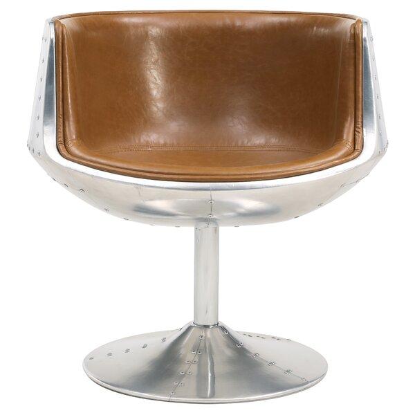 Mueller Barrel Chair by Williston Forge