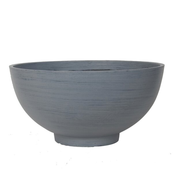 Conley Bowl Resin Pot Planter by Williston Forge