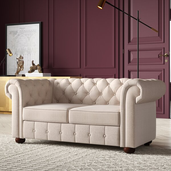 Quitaque Chesterfield Loveseat by Greyleigh