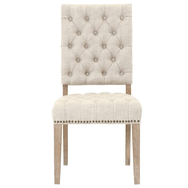 Jaquelin Upholstered Dining Chair (Set of 2) by One Allium Way