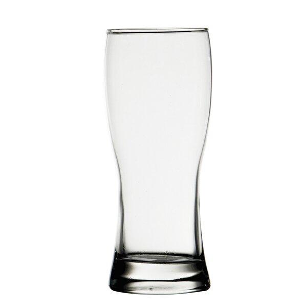 Draught 12.3 oz. Beer/Pilsner Glass (Set of 12) by D&V