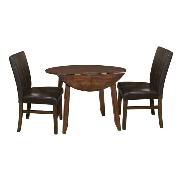 Whisenhunt 3 Piece Extendable Dining Set by Millwood Pines