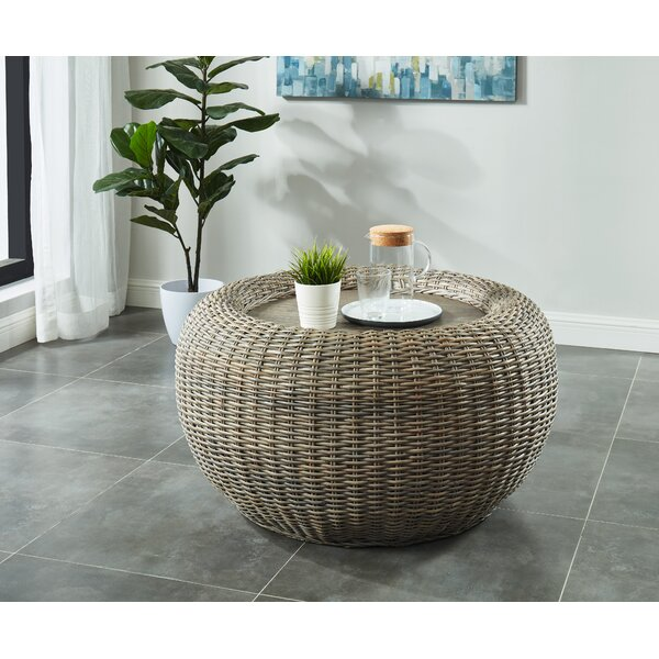 Levine Coffee Table With Tray Top By Bayou Breeze