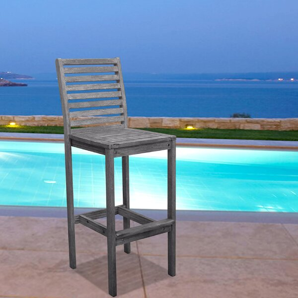 Densmore 33 Patio Bar Stool by Darby Home Co