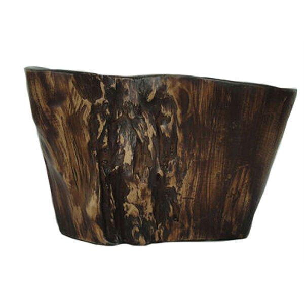 Wesner Crafted Decorative Wood Look Table Vase by Loon Peak