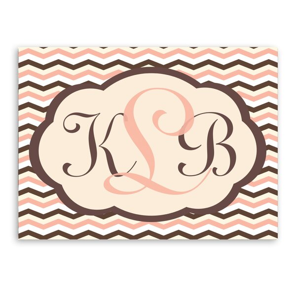 Personalized Baby Monogram Canvas Art by JDS Personalized Gifts