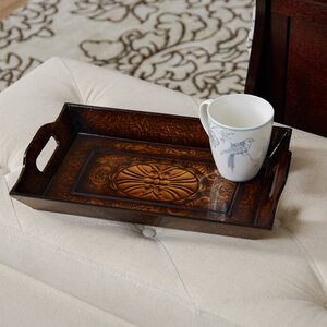 Traditional Rectangle Wood Serving Tray