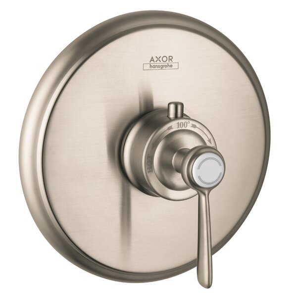 Axor Montreux Thermostatic Faucet Trim with Lever Handle by Axor