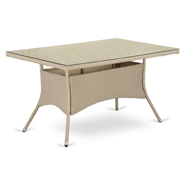 Nieve Wicker Dining Table By Ivy Bronx by Ivy Bronx Great Reviews