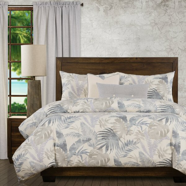 Island Life Tropical Duvet Cover and Insert Set