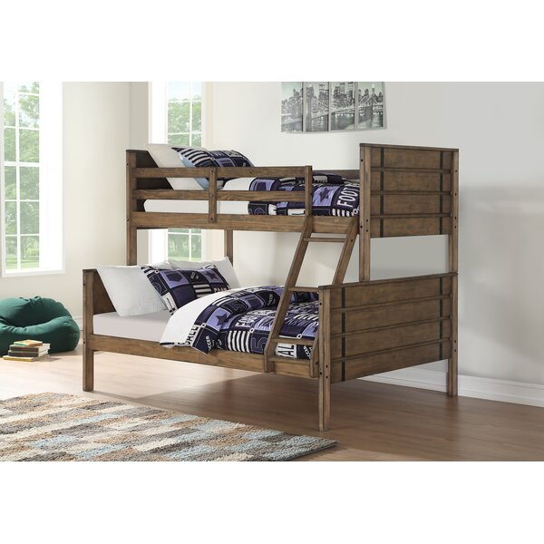 Coldiron Twin Over Full Bunk Bed by Harriet Bee