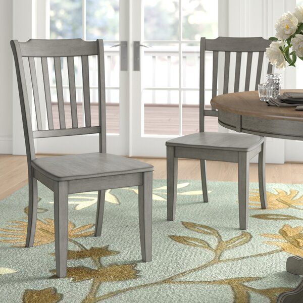 Florissant Solid Wood Dining Chair (Set Of 2) By Three Posts