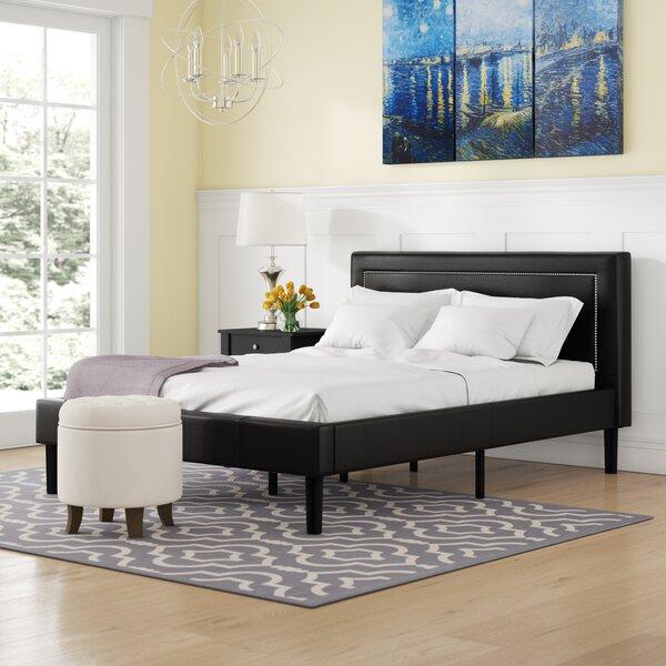 Lilyana Deluxe Upholstered Platform Bed by Winston Porter