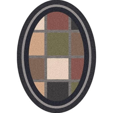 Pastiche Ababa Ebony Rug by Milliken