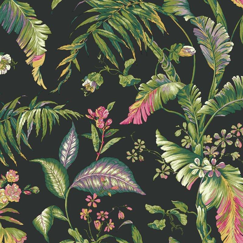 Ashford Tropics Fiji Garden 27 X Fl And Botanical Wallpaper Roll