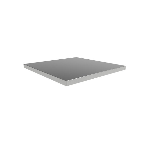 Pro 3.0 24 W x 24 D Corner Stainless Steel Workbench Top by NewAge Products