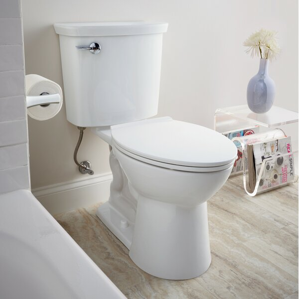 VorMax 1 GPF Elongated Two-Piece Toilet by American Standard