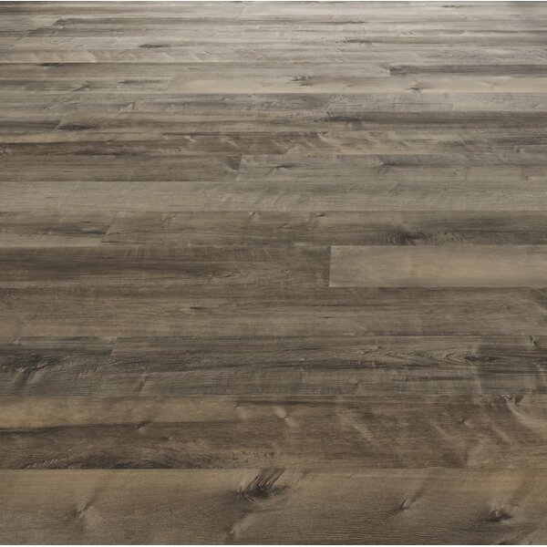 Woodloc Sweden 7-1/2 Engineered Maple Hardwood Flooring in Carob by Kahrs