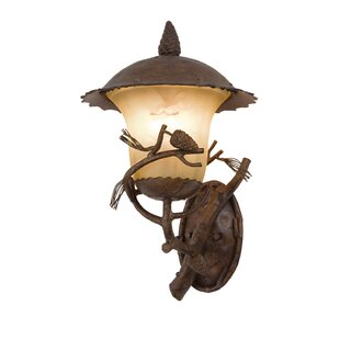 Best Reviews Ponderosa 3-Light Outdoor Sconce By Kalco