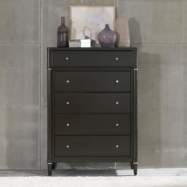 Schlosser 5 Drawer Chest by Darby Home Co