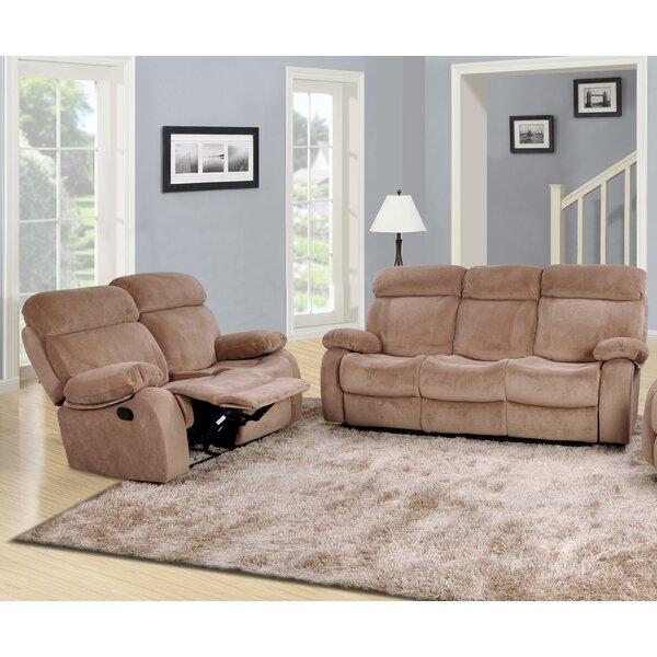 Meniru Reclining 2 Piece Living Room Set by Red Barrel Studio