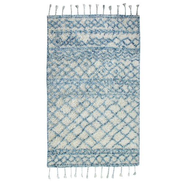 Keely Hand-Woven Blue Area Rug by Mistana