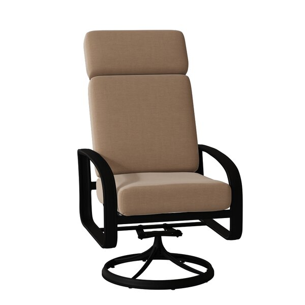 Cayman Isle High Back Swivel Rocking Chair by Woodard