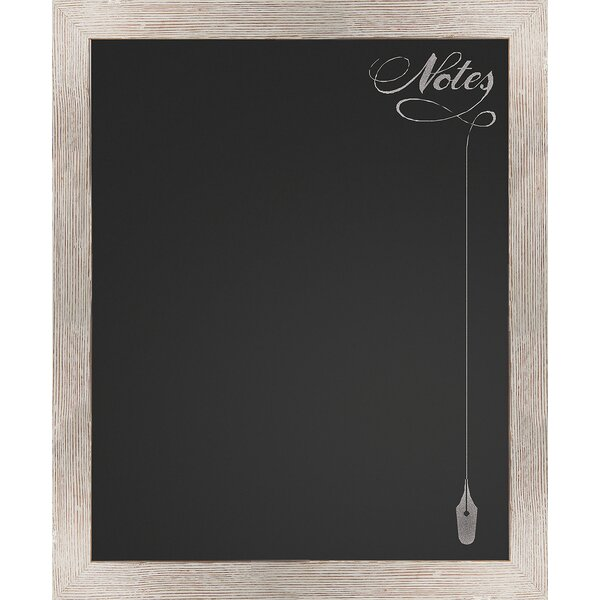 Notes Wall Mounted Chalkboard by PTM