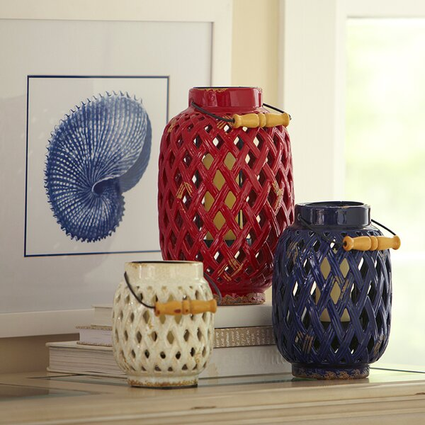 Weaver Lanterns (Set of 3) by Birch Lane™