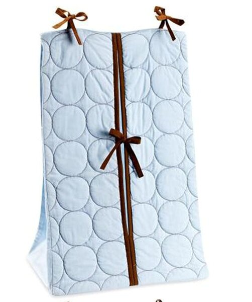 Quilted Circles Diaper Stacker by Bacati
