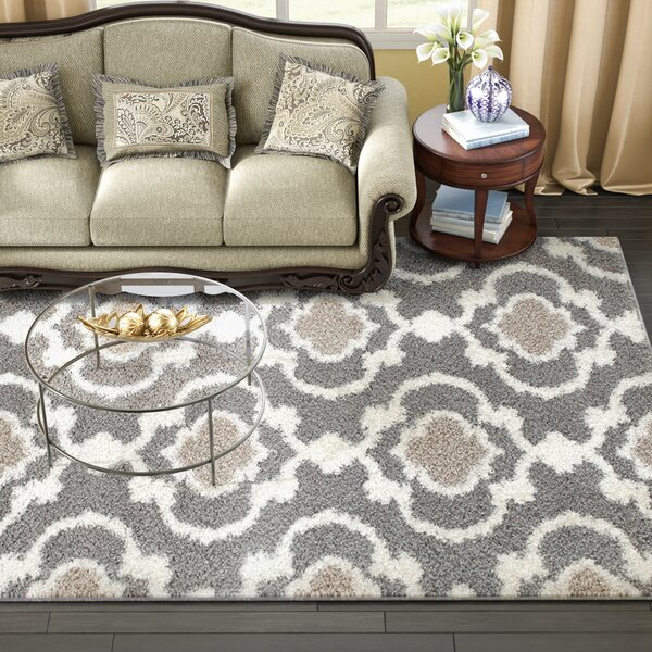 Hegwood Gray Area Rug by Andover Mills