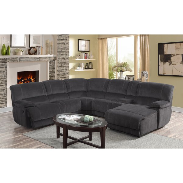 #1 Winchelsea Reclining Sectional Collection By Ebern Designs Sale