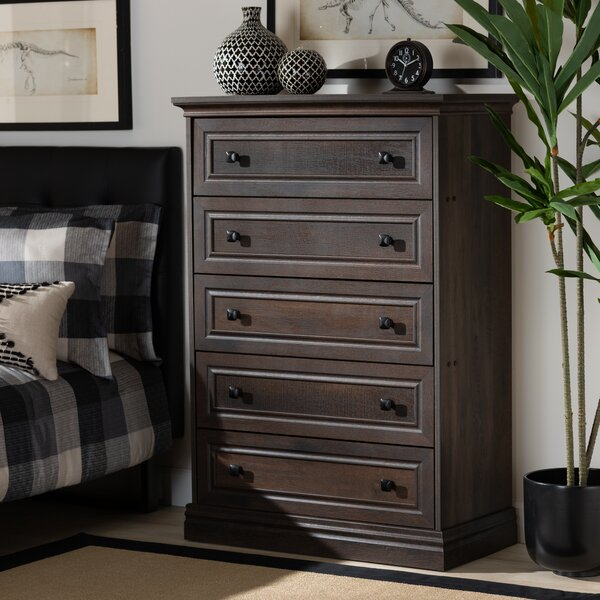 Arek 5 Drawer Chest by Winston Porter
