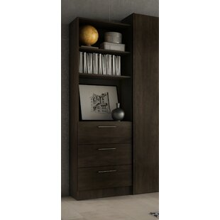 Lower Weston 3 Drawer Standard Bookcase by Wade Logan Top Reviews
